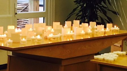 Candles will be lit to remember loved ones at Hinchingbrooke Hospital.