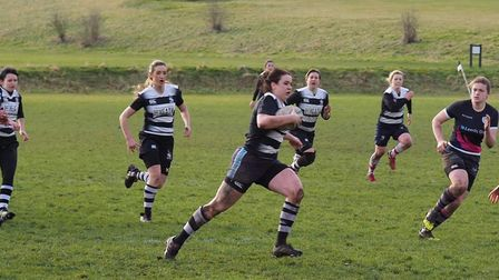 Royston Ladies Rugby Club mauled St Neots ladies 91-0. Picture credit: Brian Herdman