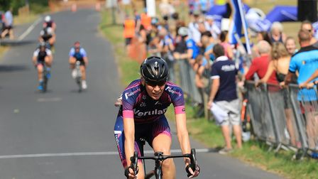Verulam Reallymoving's Laura Moody at the 2017 Fete du Velo in Redbourn.