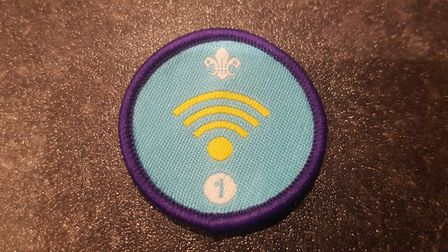 The fourth St Albans Scout Group Cubs and Beavers digital badge. Picture: Three