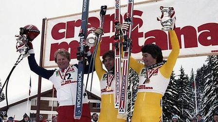 One of Philip's earliest television memories is of the World Cup at Crans-Montana, Switzerland