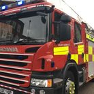 A Herts Fire and Rescue Service fire engine was involved in the collision.