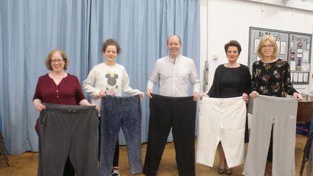 Members of the Buckden and Sawtry Slimming World