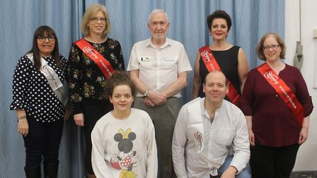 Members of the Buckden and Sawtry Slimming World.