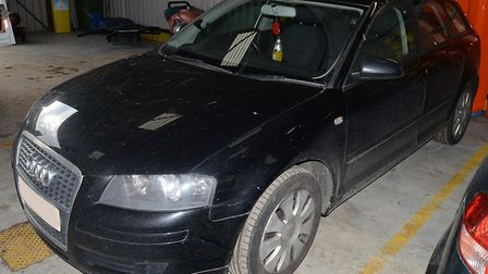 Police say this Audi A3 has been seized in connection with the investigation and are appealing for a