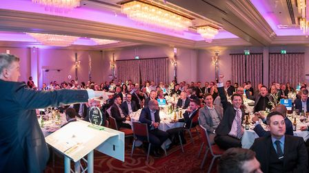 The Rennie Grove Question of Sport charity dinner.