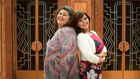 Cheryl Fergison and Maureen Nolan star in Menopause The Musical, which can be seen at The Alban Aren