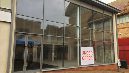Shops in Huntingdon town centre are now under offer
