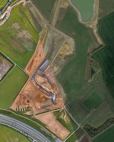 Tyttenhangar Quarry off Coursers Road in London Colney. Photo: Google.