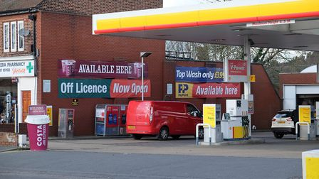 The Shell garage on the King William IV crossroads. Picture: Danny Loo.