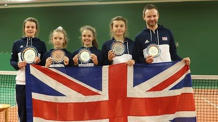 Batchwood Tennis Centre's Hannah Read competed for GB in a european final.