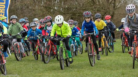 A race gets underway at the Muddy Monsters event in St Albans. Picture: JUDITH PARRY PHOTOGRAPHY
