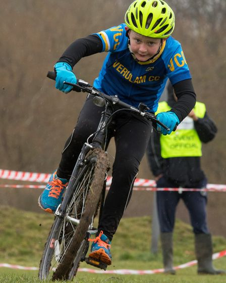 Verulam Cycling Club's Henry Barker at the Muddy Monsters event. Picture: JUDITH PARRY PHOTOGRAPHY