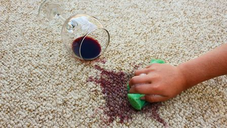 We've all heard about chucking white wine on top of a red wine spillage... the jury's out on how eff