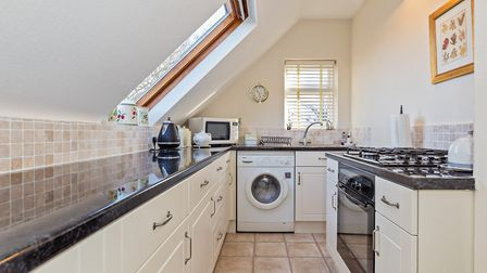 The property is a short walk from Wheathampstead's high street