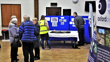 The findings were on display at Melbourn Village College. Picture: Clive Porter
