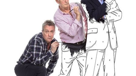 Stephen Tompkinson, Denis-Lawson, and Nigel-Havers star in the production. Picture: JON SWANNELL