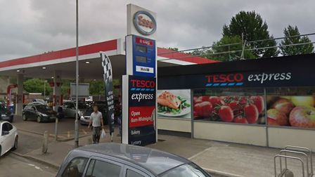 The Tesco Esso Express garage on Lower Luton Road in Harpenden. Picture: Google.