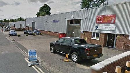 The units at Southdown Road Industrial Estate which could become flats. Picture: Google.