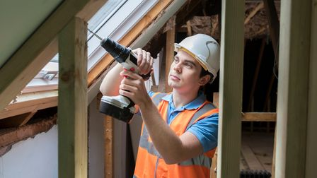 There has been a 114 per cent increase in planning applications for loft extensions over the past ni