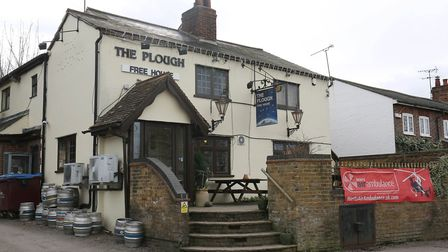 The Plough, Tyttenhanger Green.