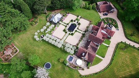 Flowton Priory was the second most expensive property sold in Harpenden last year