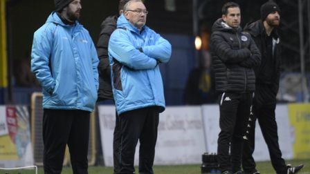 Manager Ian Allinson has called for the fans support as St Albans City strive to get in the Vanarama