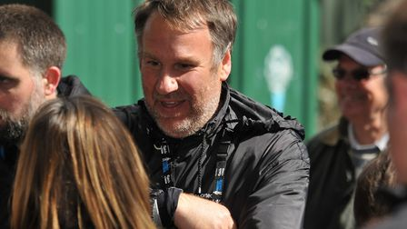 Former Arsenal player Paul Merson has joined Sky Soccer Saturday presenter Jeff Stelling on his Men