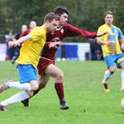 James Ewington claimed two goals for Harpenden Town as they won 2-1 away to London Colney. Picture