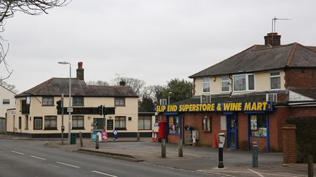 The village shop stocks all the essentials - including wine