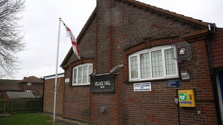 The village hall is a popular party venue
