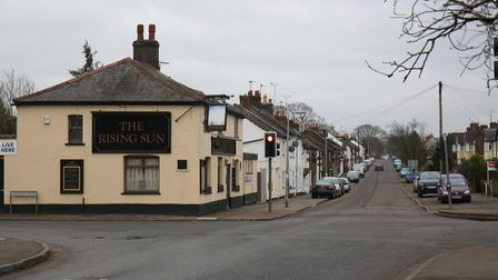 The Rising Sun pub, Front Street