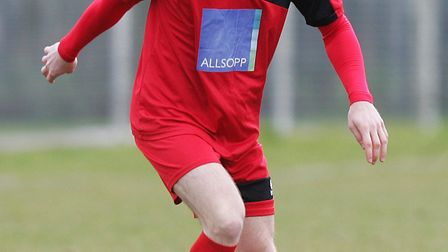 James Ewington claimed two as Harpenden Town beat London Colney.Picture: Karyn Haddon