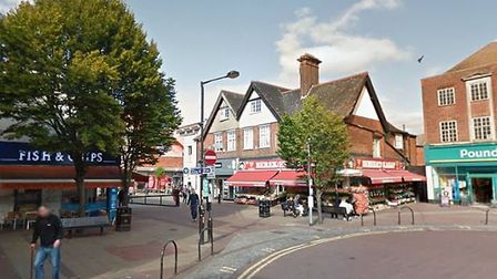 Waltham Cross came second on the best commuter town countdown (credit: Google Street View)