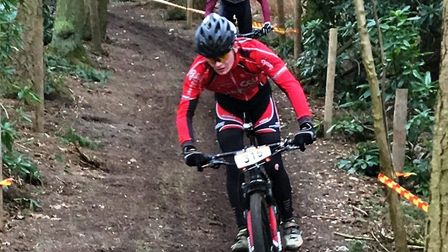 Sam Trotter in action at Henham Park. Picture: ESTHER PAULEY