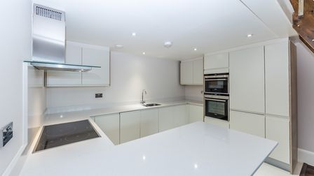 The kitchen has been finished to the highest standards with granite worktops and a range of fitted a