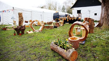 Visitors to the Thriplow Daffodil Weekend. Picture: Danny Loo