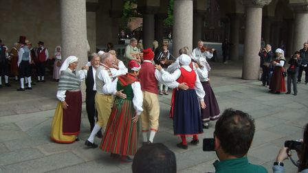 Spanga from Sweden will appear at this year's St Albans Folk Festival