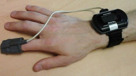 Dr Peter Charlton has been researching the potential benefits of using wearable sensors to continuou