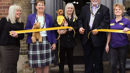 The Dogs Trust has opened a new shop in St Neots.