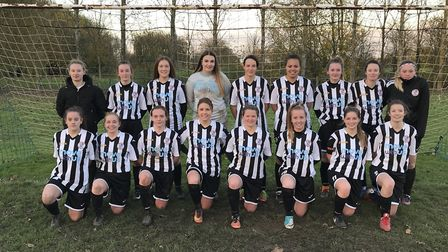 St Ives Town Ladies pictured earlier this season.