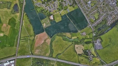 South of Napsbury. Picture: Google Maps