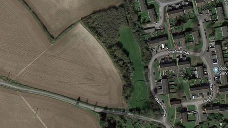 Land at Stephens Way and Flamsteadbury Lane. Picture: Google Maps