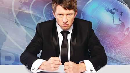 Jonathan Pie can be seen at The Alban Arena in St Albans