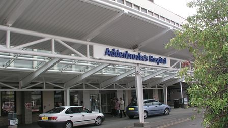 Addenbrooke's Hospital has gone into high alert