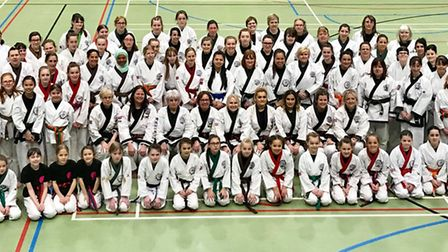 Those who took part in the historic female seminar in St Ives.