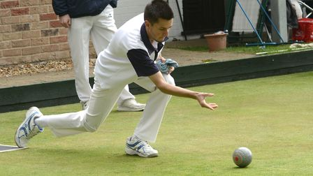 Ed Elmore is chasing success on four fronts at the Huntingdonshire Indoor Bowling Federation finals.
