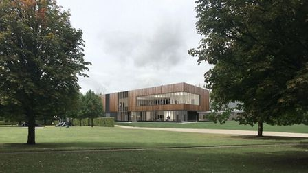 A picture of the new Harpenden leisure and culture development. Picture: St Albans council.