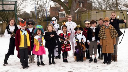 World Book Day at Holywell Primary School. Picture: ARCHANT
