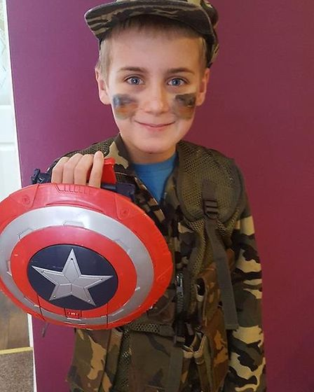 Lewis, aged 9, From Great Paxton primary school